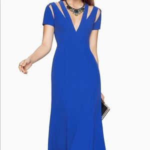 Estrella Cutout Royal Blue Gown